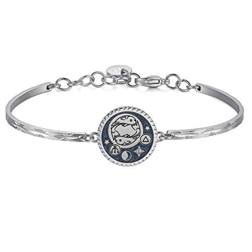 Brosway Jewels Bracciale Chakra Zodiaco BHK378 Pesci
