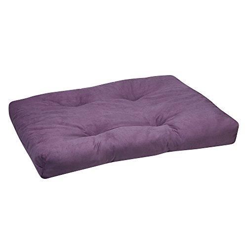 Gaiam Meditation Cushion Zabuton Yoga Pillow, Purple