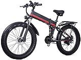Bicicleta eléctrica Bicicleta eléctrica por la mon 26 en las bicicletas plegables eléctricos 1000W 48V / 12.8Ah bicicleta de montaña, motos de nieve Pantalla LED Faros de ciclo al aire Trabajar el cue