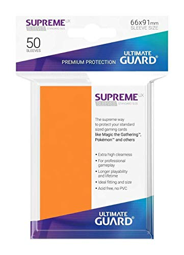 Ultimate Guard- Protective Card Sleeves Juego de Cartas, Color Arena, única (UGD10804)