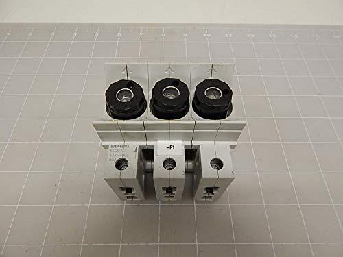 Siemens NEOZED-Sicherungssockel 5SG5701 D02 3polig, Mehrfarbig