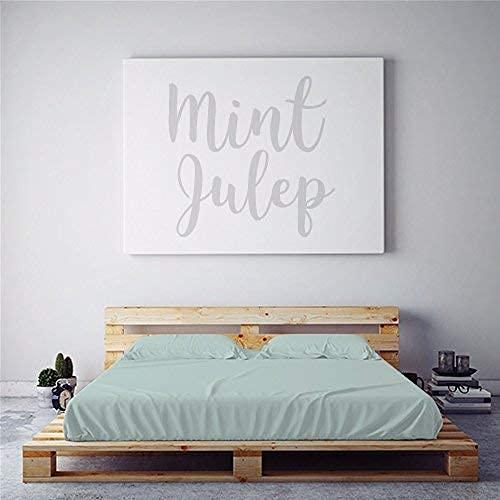 Night Sweats: PeachSkinSheets Mint Julep 1500tc...