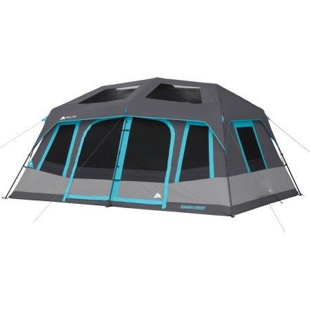 10 Person Innovative Dark Rest technology Instant Cabin with 8 windows Tent