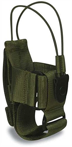 Tasmanian Tiger TT Tac Pouch 2 Pochette Radio Compatible Molle, Taille réglable, 15 x 7 x 7 cm (Olive)