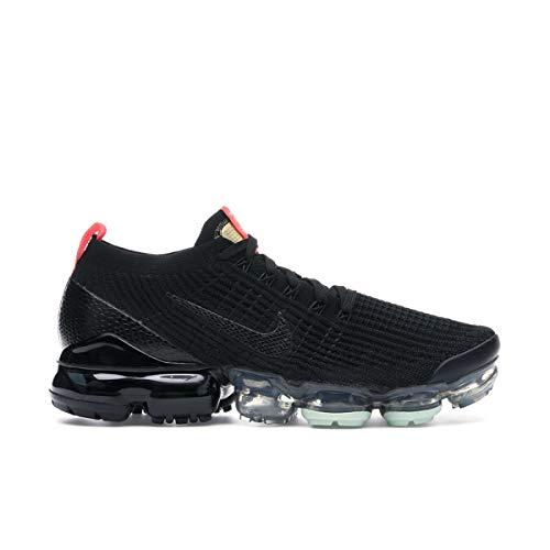 Nike Men's Shoes Air Vapormax Flyknit 3 Black Snakeskin AJ6900-023 (Numeric_13)
