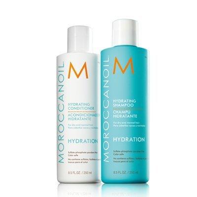 Moroccanoil Hydration - Feuchtigkeits-Serie (Shampoo + Conditioner 2x 250ml Set)