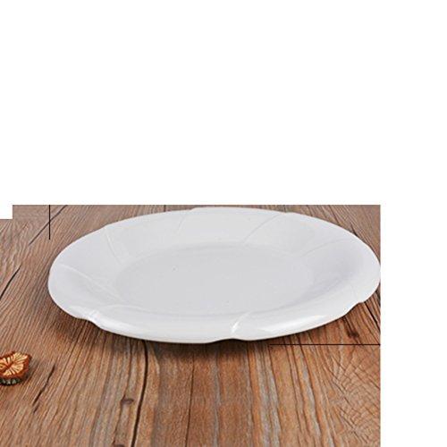 assiette ,plaque d'accentuation,assiette d'apéritif, assiette à dessert ,plat de plat de salade/ assiette / plateau de fruit -A