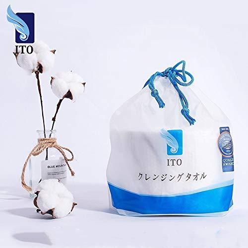 (80pcs / rouleau) x 3Roll, nettoyage jetable naturel Visage Serviette 100% coton non-tissé tissu doux visage Tissue - Démaquillant Tissues -M: 7GEGU7WV (Size : 10ROLL)