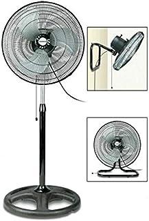 All Shop – Ventilador 3 en 1 55 W versátil. Planta, mesa, pared oscilante y potencia regulable.