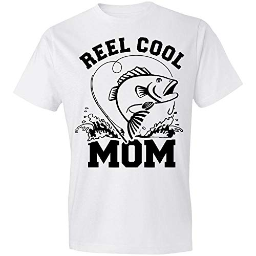 Situen Reel Cool Mom Fishing Gift, Fishing Mom, Bass Fishing, Mother-Day Gift, Funny & Sarcastic Gift for Mom Wife-nant20102028 T-Shirt,Gift