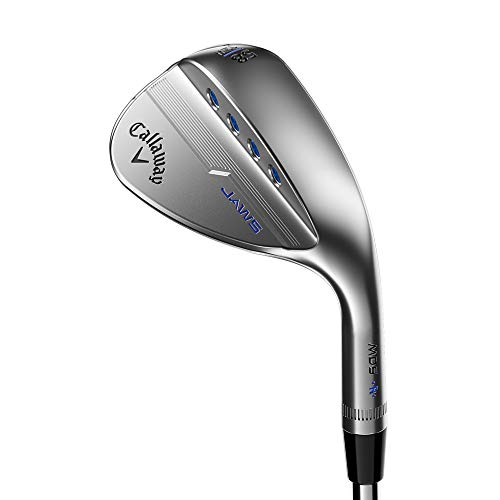 Callaway Mack Daddy 5 Jaws Wedge (Graphite, Women's) (Platinum Chrome, Right Hand, 56.0 degrees, W-Grind, 12 Bounce, Graphite - Ladies)