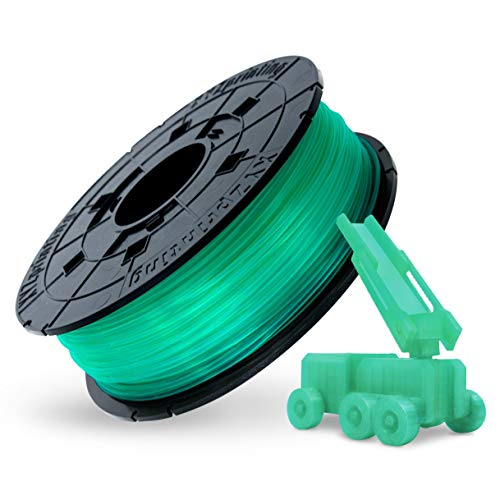 XYZprinting RFPLBXEU04A Ricarica PLA 600 gr, Clear Green