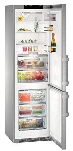 Liebherr cbnies 4858autonome 344L A + + + Edelstahl–réfrigérateurs-congélateurs (344L, sn-t, 16kg/24h, A + + +, neue Zone Bucket, Edelstahl)