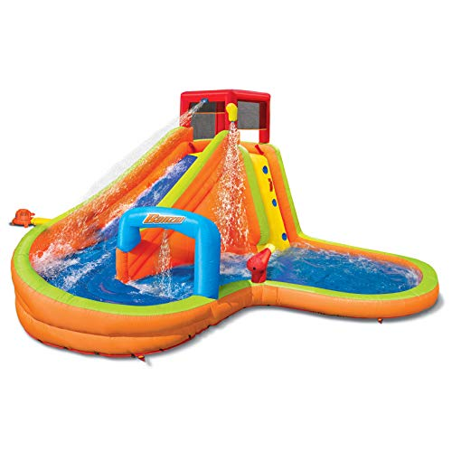 Purchase BANZAI Lazy River Inflatable Outdoor Adventure Water Park Slide and Splash Pool