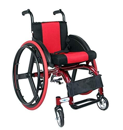 Cynyy Intelligente Automatische  Elektro-Rollstuhl Klapprollstuhl Elektrische Rollstühle Sportlich Zusammenklappbares Leichtaluminium Mit Sicherheitsgurt Und 24