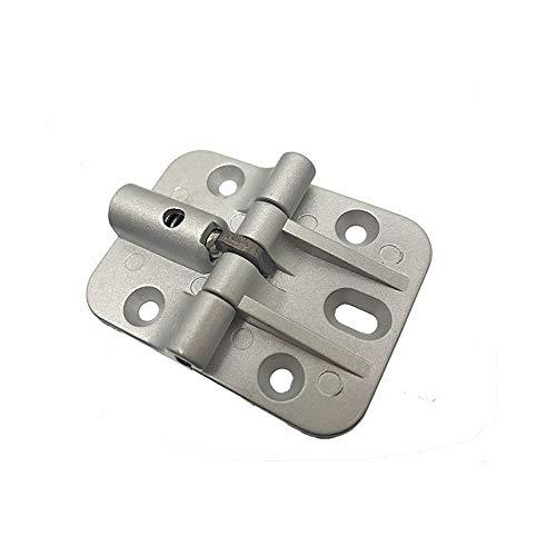Bisagra de posicionamiento de aleación de zinc La bisagra de límite de la bisagra de amortiguación de 90/180 grados se puede ajustar para detener la puerta plegable a voluntad