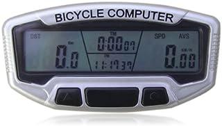 Bicicleta computadora LCD goliton odómetro velocímetro velómetro Backlight con función 28 - negro