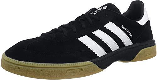 adidas Herren Spezial Handball Shoe, Core Black/Core White/Core Black, 42 EU