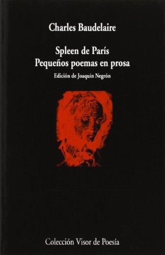 Spleen de París: Pequeños poemas en prosa: 377 (Visor de Poesía)