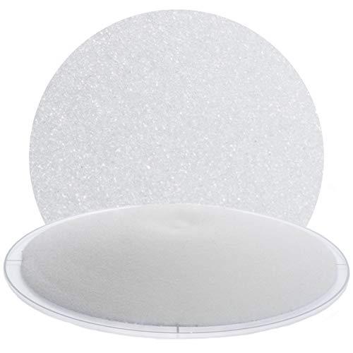 Glasperlen Strahlmittel 25 kg von Schicker Mineral zum schonenden Sandstrahlen z.B. von Holz, Glas Feinstrahlmittel aus Deutschland, Strahlgut fein bis grob (100-200 µm)