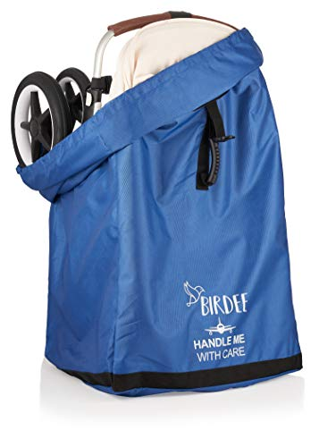 Birdee Standard Or Double Dual Stroller Travel Bag for Airplane Gate Check and Carrier for Travel