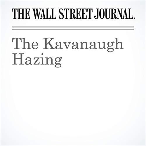 The Kavanaugh Hazing copertina