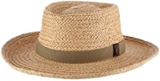 Men's Raffia Gambler Hat