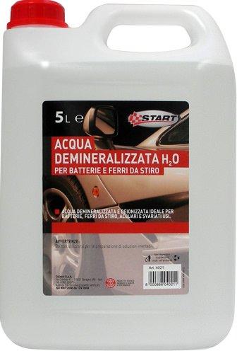START Acqua demineralizzata H2O per batterie e Ferri da Stiro 5L