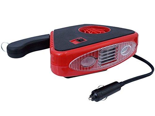 TORNADO Heizlüfter für PKW KFZ Lüfter Heizung Ventilator 12V 150W mit LED Licht