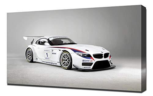 2010-BMW-Z4-GT3-V1-1080 - Stampa Artistica su Tela - Stampa Tela Canvas