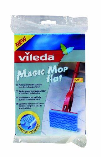 2xVileda Magic Mop Flat Refill
