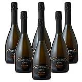 Millesimato CUVEÉ Prosecco Valdobbiadene Superiore DOCG Al Canevon - Offerta 6 Bottiglie...