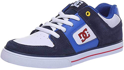 DC Shoes Pure - Leather Shoes for Kids - Lederschuhe - Kinder - EU 37 - Blau