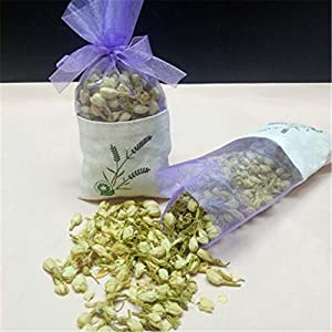 Artificial and Dried Flower Natural Lavender Bud Dry Flower Sachet Bag Car Room Aromatic Desiccant Home Fragrance Sachets Moth &Mildew