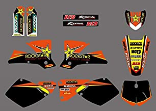 D-Modernlife-0290 Star New Team Graphics With Matching Backgrounds Fit For Sx Mxc 125/250/380/400/520 1998 1999 2000