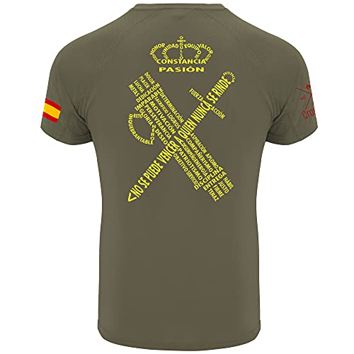 Crossfire - Camiseta Técnica de la Guardia Civil con...
