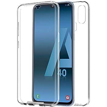 Mb Accesorios Samsung Galaxy A40 Funda DE Silicona Delantera + ...