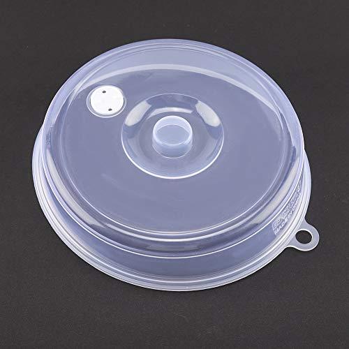 Aufee Cubierta de Placa de microondas, Tapa de Placa de Silicona para microondas, para Accesorios de Horno de microondas para Piezas de Horno de microondas(Large)