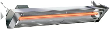 Infratech W2524SS Single Element - 2500 Watt Electric Patio Heater, Choose Finish: Stainless Steel