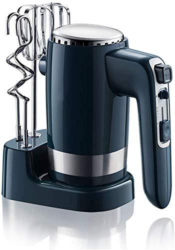 DX Handmixer, elektrische 300W, Handschläger, Aufbewahrungsbasis, 10-Gang-Schneebesenmischer Küchenhand, 2 Schläger und 2 Teighaken.