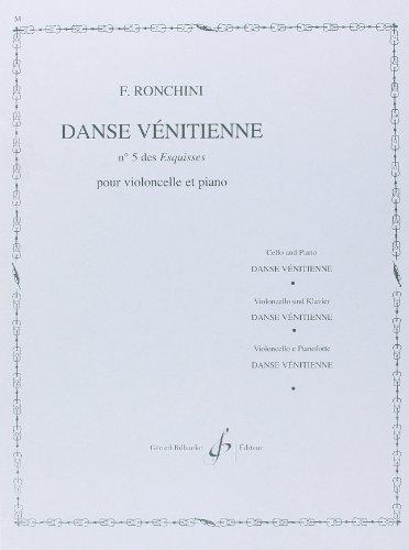 Danse Venitienne N 5 des Esquisses PDF Books