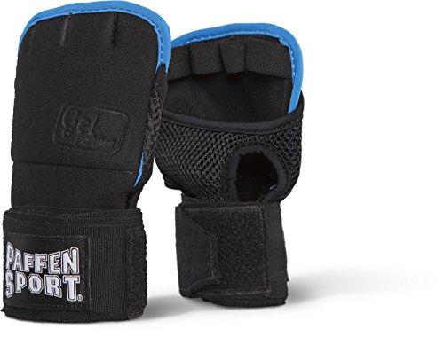 Paffen Sport Gel WRAP Bandage mit Gelpolster; schwarz/weiß/Aqua; GR: M/L