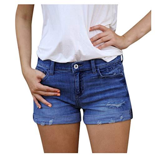 Janly Liquidación Venta De Las Mujeres Pantalones Cortos Vaqueros, Nuevas Mujeres Verano Corto Jeans...