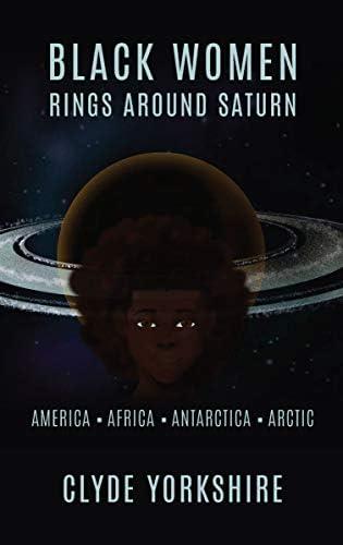 Black Women Ring Around Saturn America Africa Antarctica Arctic product image