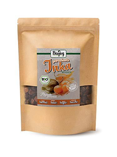 Biojoy Bacche di Inca BÍO essiccate, Physalis senza senza zucchero e senza zolfo (1 kg)