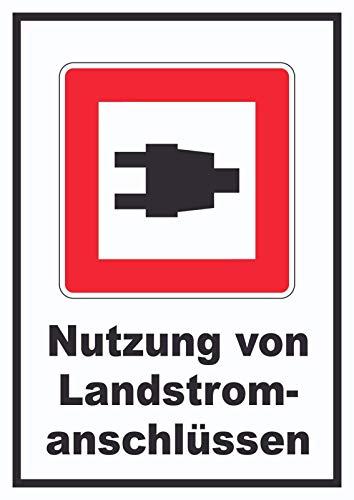 HB_Druck Uso De Landstromanschlüssen Signo De - A5 Rückseite selbstklebend