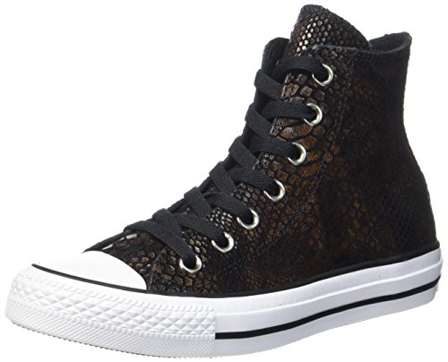 Converse Unisex-Erwachsene CTAS HI Hohe Sneaker, Mehrfarbig (Brown/Black/White), 38 EU