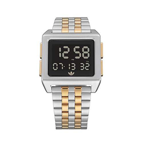 Adidas by Nixon Reloj Digital para Unisex Adulto de con Correa en Acero Inoxidable Z01-1921-00