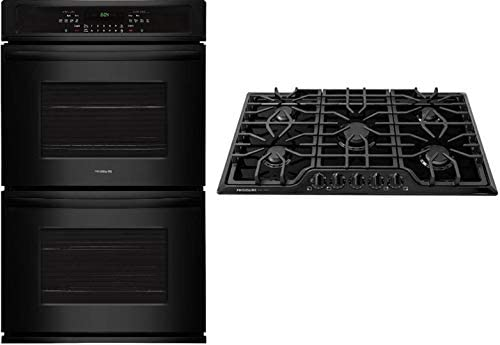 Frigidaire 2 Piece Kitchen Appliances Package with FFET2726TB 27 Electric Double Wall Oven and product image