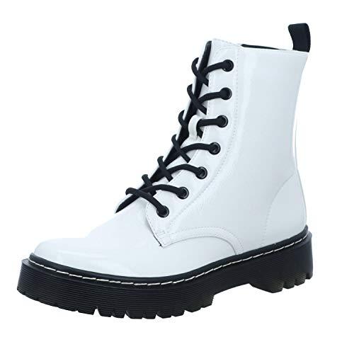 La Strada 1988056 - Damen Schuhe Stiefel - 1301-white-patent, Größe:37 EU